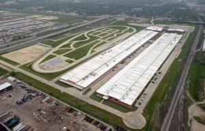 Aerial View of Bob Bolen Complex