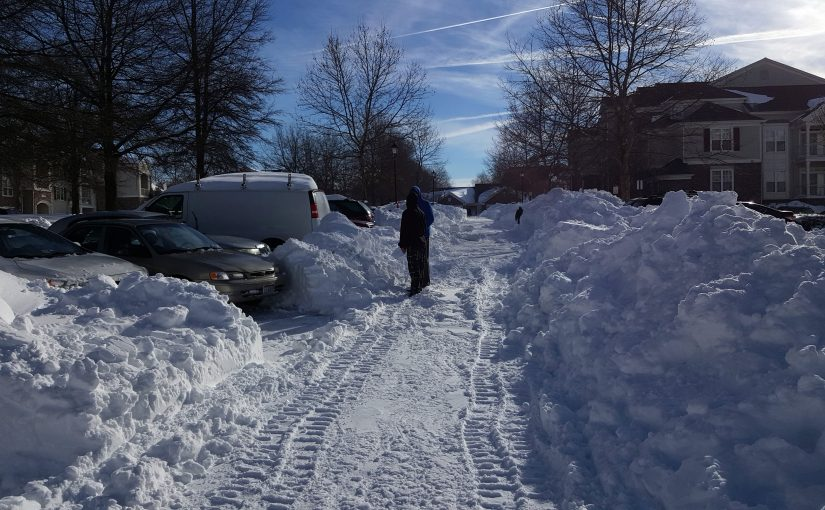 snow makes travel difficult